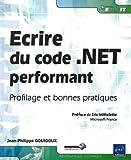 couverture du livre Ecrire du code .NET performant