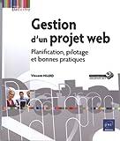 couverture du livre Gestion d'un projet web - Planification, pilotage et bonnes pratiques