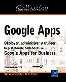 couverture du livre Google Apps