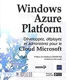 couverture du livre Windows Azure Platform
