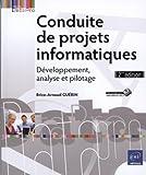couverture du livre Conduite de projets informatiques