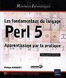 couverture du livre Les fondamentaux du langage Perl 5