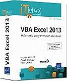 couverture du livre VBA Excel 2013