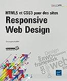 couverture du livre HTML5 et CSS3 pour des sites Responsive Web Design