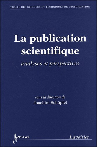La publication scientifique
