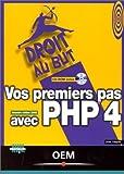couverture du livre Vos premiers pas avec PHP 4