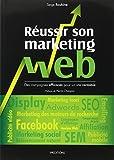 couverture du livre Réussir son marketing web