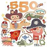 550 dessins à trouver pour les garçons