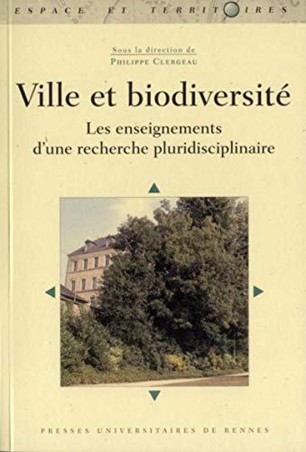 Ville et biodiversité