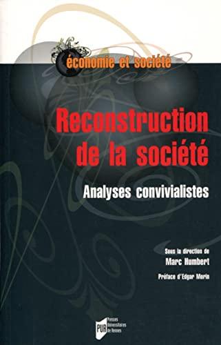 Reconstruction de la société