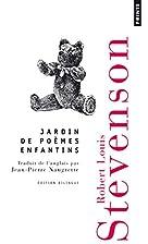 Jardin de Poèmes Enfantins by Robert Louis…