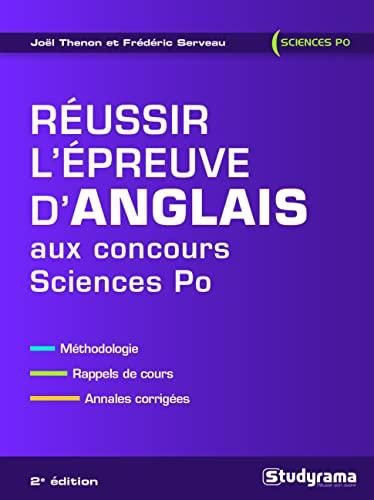 Réussir l'épreuve d'anglais aux concours Sciences Po