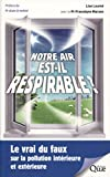 """Afficher """"Notre air est-il respirable ?"""""""