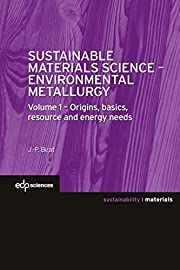 Sustainable Materials Science -…