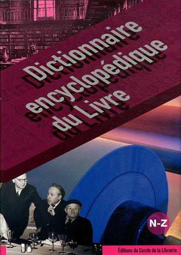 Dictionnaire encyclopédique du livre