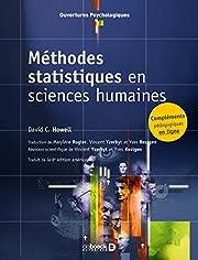 méthodes statistiques en sciences…