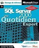 couverture du livre SQL Server 2000 au quotidien, expert