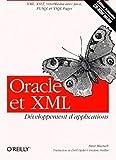 couverture du livre Oracle et XML - Développement d'applications