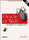 couverture du livre Oracle et Web - Développement d'application