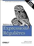 couverture du livre Maîtrise des expressions régulières