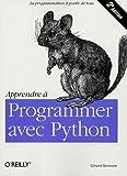 couverture du livre Apprendre à programmer avec Python