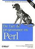 couverture du livre De l'art de programmer en Perl