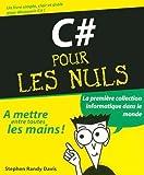 couverture du livre C# Pour les nuls