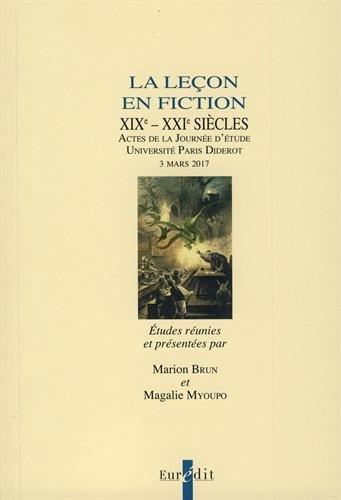 La leçon en fiction