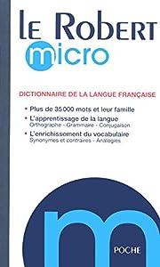 Le Robert micro : Dictionnaire…