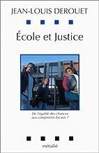 Ecole et justice : De…