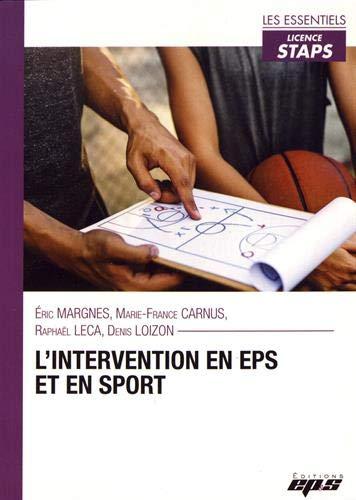 L'intervention en eps et en sport