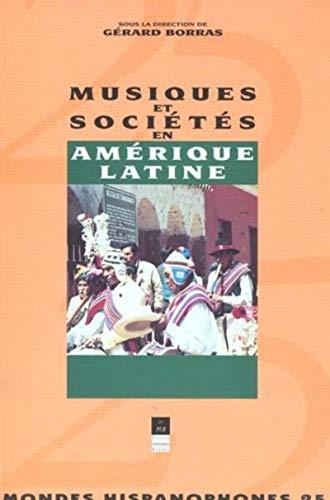 Musiques et sociétés en Amérique latine