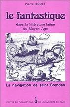 Le fantastique dans la litterature latine du…