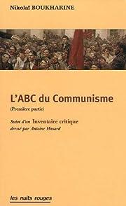 L'ABC du Communisme de Nikolaï Boukharine