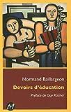 Devoirs d'éducation