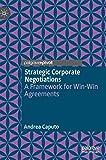 Strategic corporate negotiations