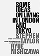 Some Ideas on Living in London and Tokyo by…
