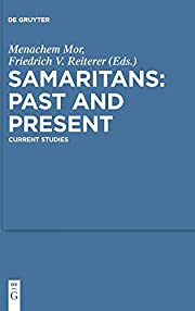Samaritans: Past and Present (Studia…