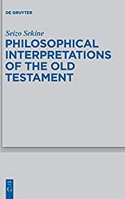 Philosophical interpretations of the Old…