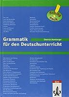 Grammatik für den Deutschunterricht, neue…