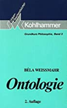 Ontologie by Bela Weissmahr