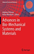 Advances in Bio-Mechanical Systems and…