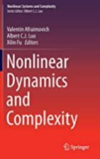 Nonlinear Dynamics and Complexity (Nonlinear…