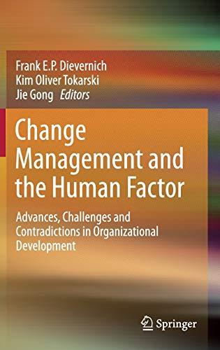 PDF] Change Management and the Human Factor: Advances