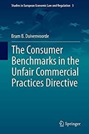 The Consumer Benchmarks in the Unfair…