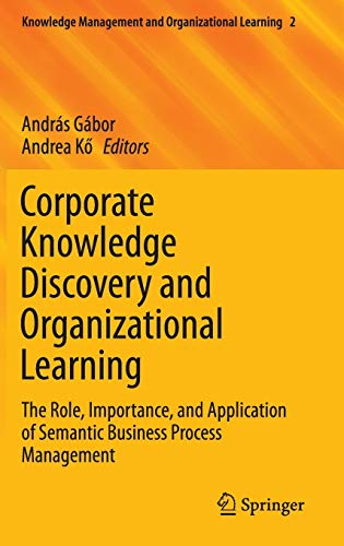 PDF] Corporate Knowledge Discovery and Organizational