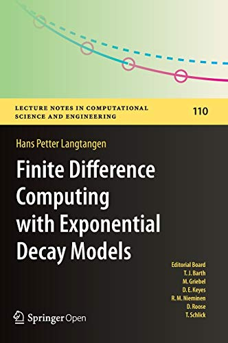 PDF] Finite Difference Computing with Exponential Decay