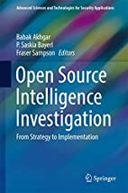 Open Source Intelligence Investigation: From…