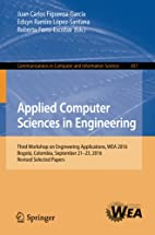 Applied Computer Sciences in Engineering:…