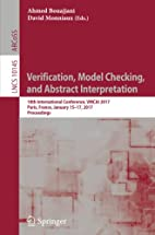 Verification, Model Checking, and Abstract…